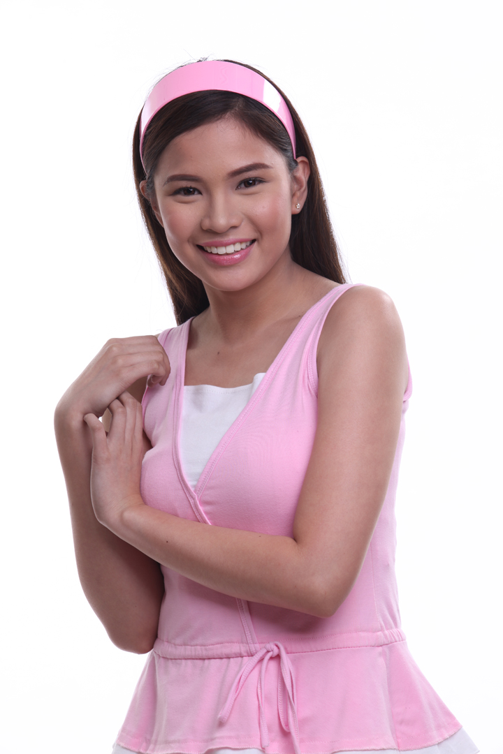 Louise delos Reyes sets sights...