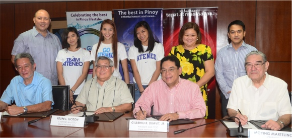 GMA Contract Signing