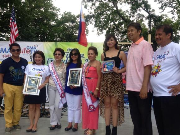 GMA Pinoy TV and Glaiza de Castro receive awards in PAFCOM New Jersey