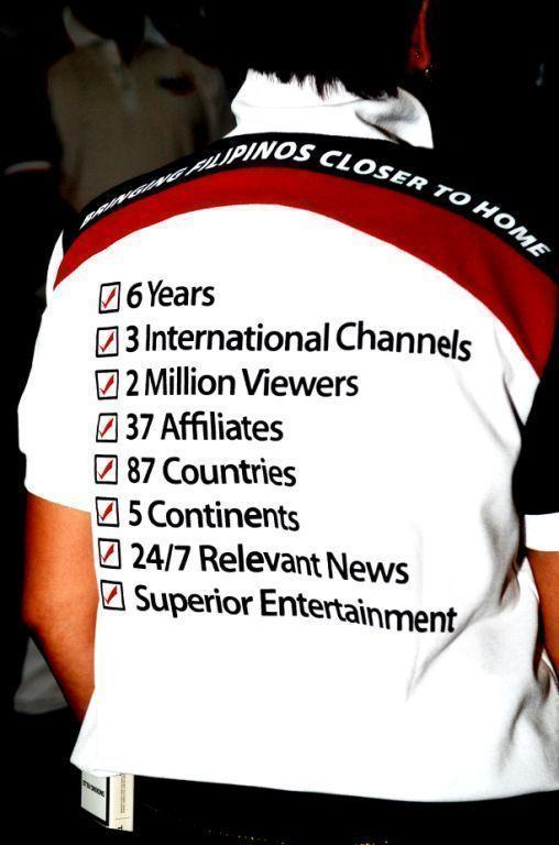 GMA milestones shirt