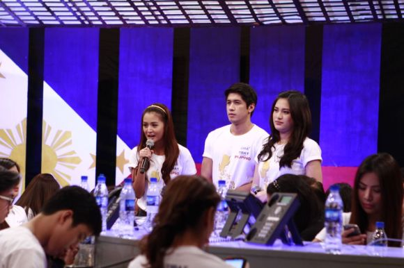 Kris Bernal Aljur Abrenica and Julie Anne San Jose