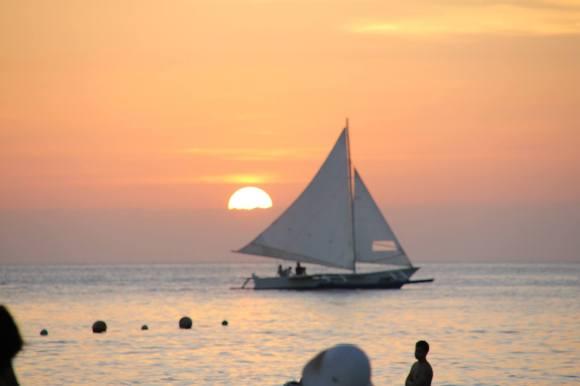 Sunning Boracay Sunset