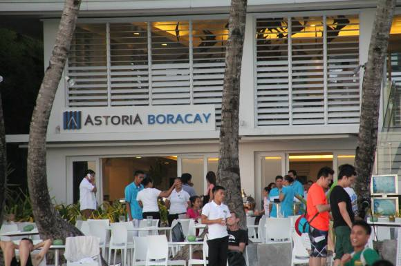 Astoria Boracay Resort Frontage Facing the Beach