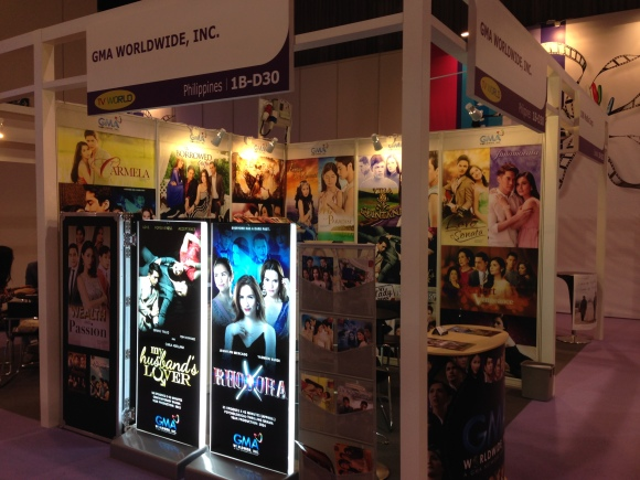 GMA also participated in the Hong Kong Filmart, the biggest content exhibit in Asia