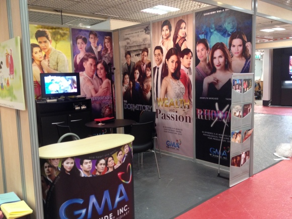 Kapuso programs received enthusiastic response from foreign buyers at the MipTV market exhibit in Cannes, France