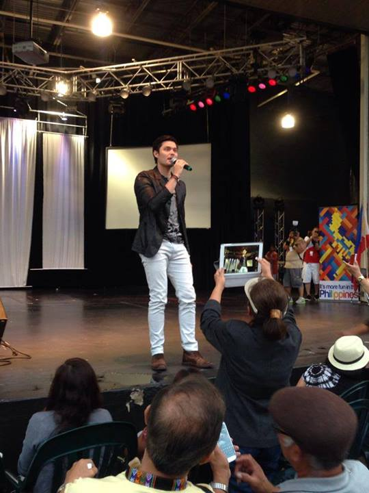Dingdong Dantes in Bolingbrook, Illinois 2