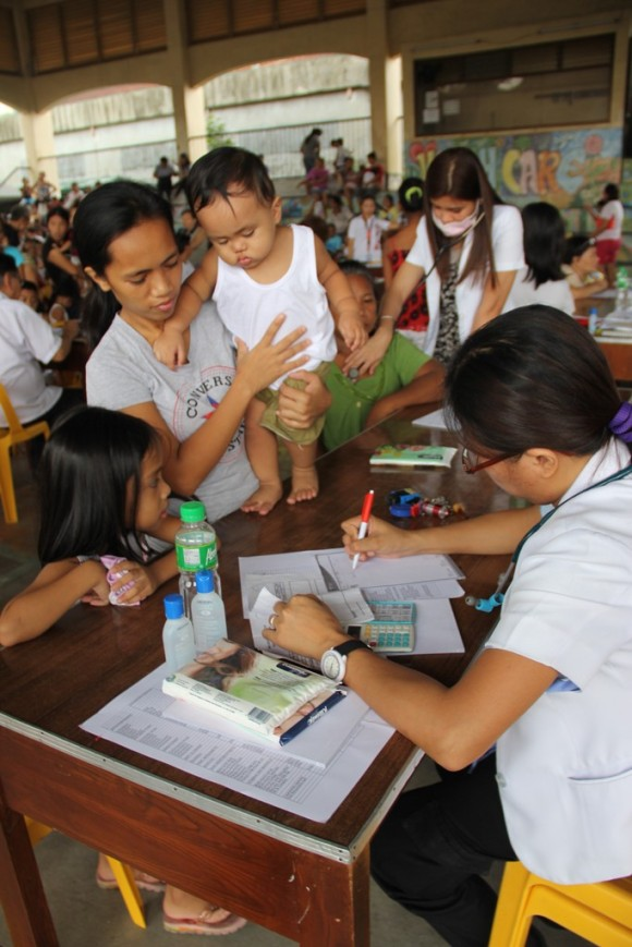 GMAKF, Kalusugan Karavan (medical mission), Tondo Manila