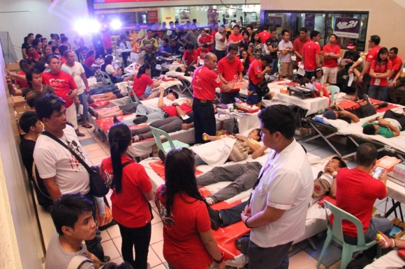 GMAKF, Sagip Dugtong Buhay bloodletting project, August 2014
