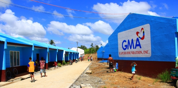The Kapuso Village Tacloban is the first permanent housing project in the area for survivors of typhoon Yolanda.