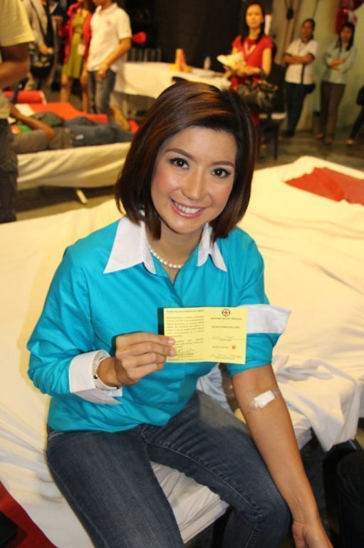 Award winning GMA News personality Kara David