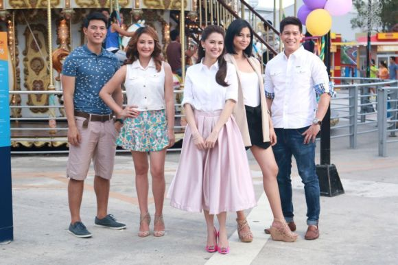 The Rich Mans Daughter - Mike Tan, Sheena Halili, Glaiza de Castro, Marian Rivera and Luis Alandy