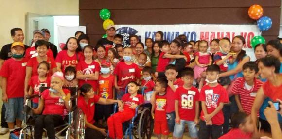 KKMK's Batang K program also boosts the morale of children diagnosed with Acute Lymphocytic Leukemia through fun group activities such as the BK Christmas Party.