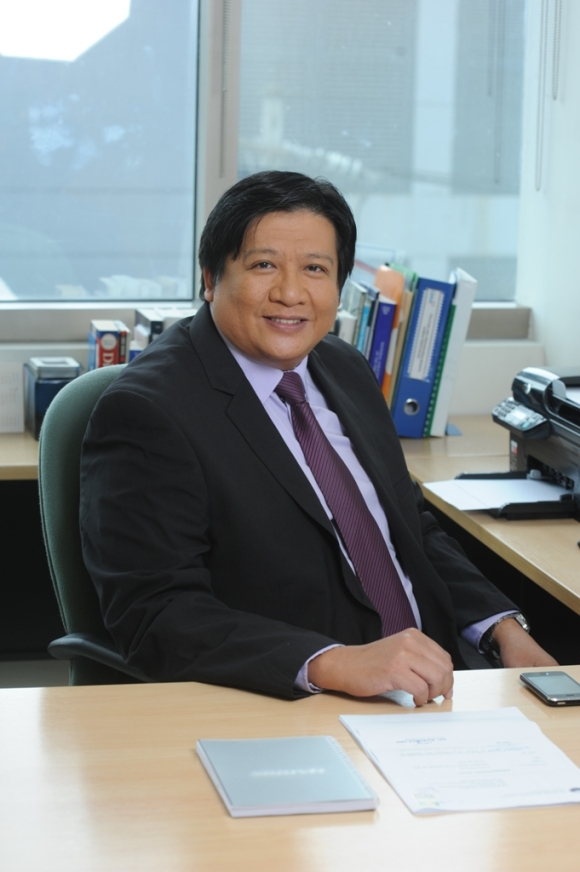 Engr. Elvis B. Ancheta, Senior Vice President and Head of the Engineering Group