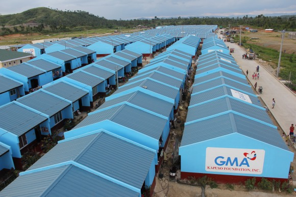 With the help of the GMA Kapuso Foundation's donors and partners, this landmark undertaking, which includes 403 permanent concrete houses, was officially completed on May 21