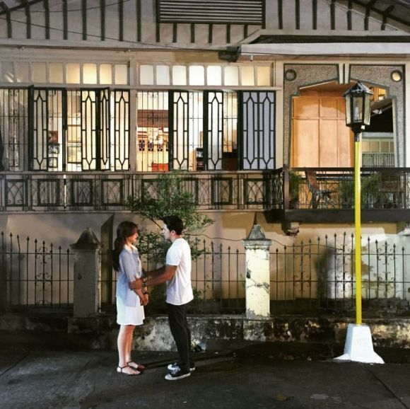 Jennylyn and Dennis wrap up a scene for the series